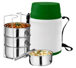 Steel Lunch Box (4 Container Set )